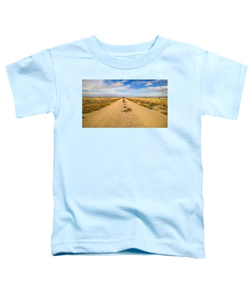 Toddler T-Shirt featuring the photograph Vanishing Point by Carl Young