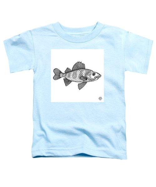 Yellow Perch Toddler T-Shirt