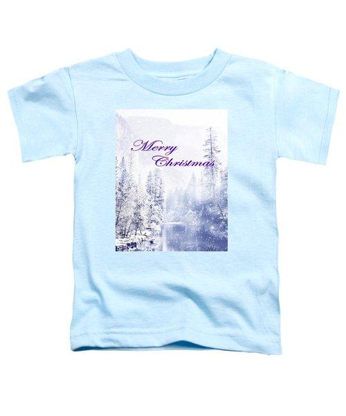 Yosemite-river Toddler T-Shirt