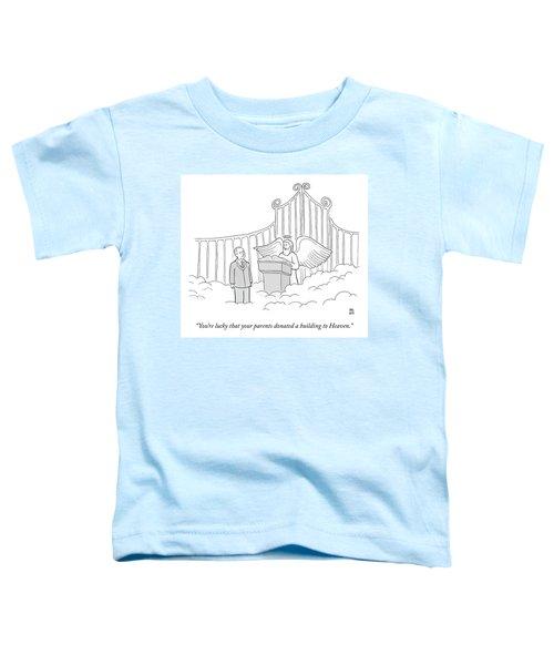 Your Parents Donated Toddler T-Shirt
