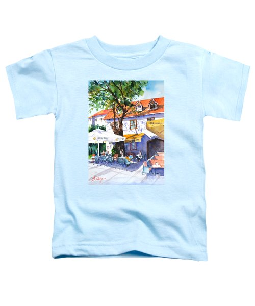 Zagreb Cafe #3 Toddler T-Shirt