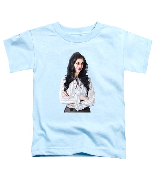 Zombie Businesswoman Toddler T-Shirt