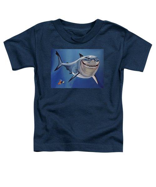 Finding Nemo Painting Toddler T-Shirt