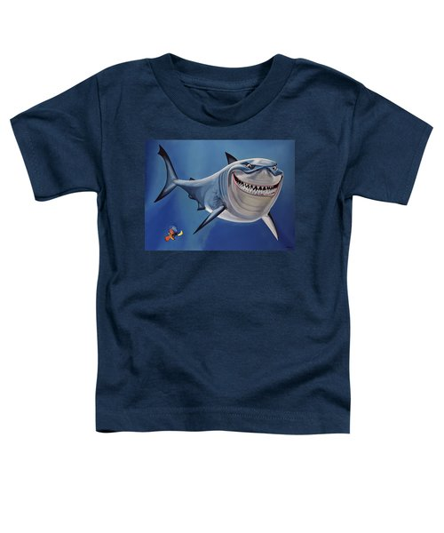 Finding Nemo Painting Toddler T-Shirt