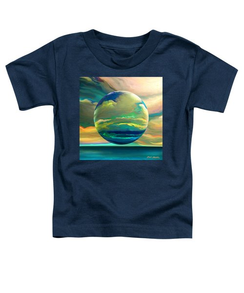 Clouding The Poets Eye Toddler T-Shirt