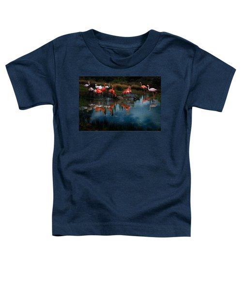 Flamingo Convention Toddler T-Shirt