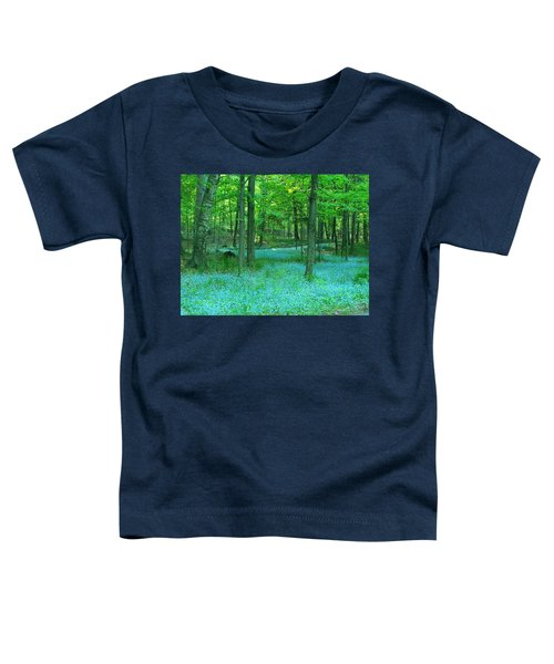 Forget-me-nots In Peninsula State Park Toddler T-Shirt