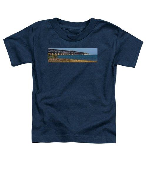 Old Bahia Honda Bridge Toddler T-Shirt