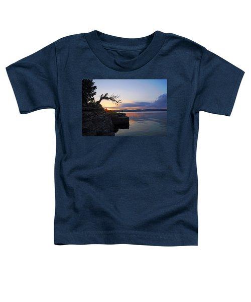 Sunrise Over Table Rock Lake Toddler T-Shirt