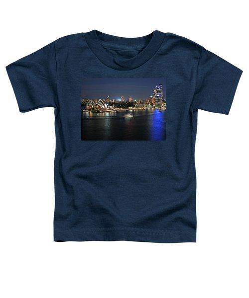 Sydney Harbor At Circular Quay Toddler T-Shirt by Ellen Henneke
