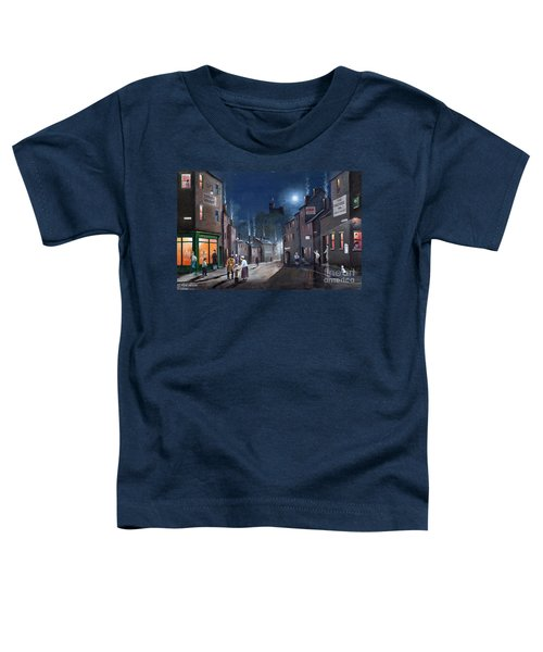 Tower Street Dudley C1930s Toddler T-Shirt
