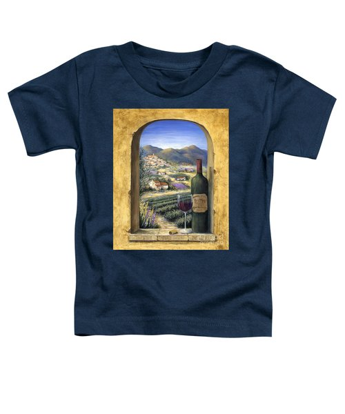 Wine And Lavender Toddler T-Shirt