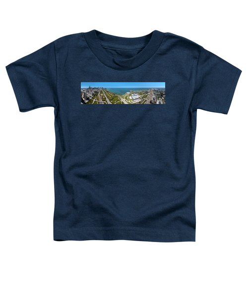 180 Degree View Of A City, Lake Toddler T-Shirt by Panoramic Images