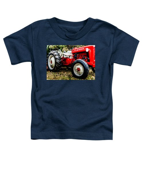 1950s-vintage Ford 601 Workmaster Tractor Toddler T-Shirt