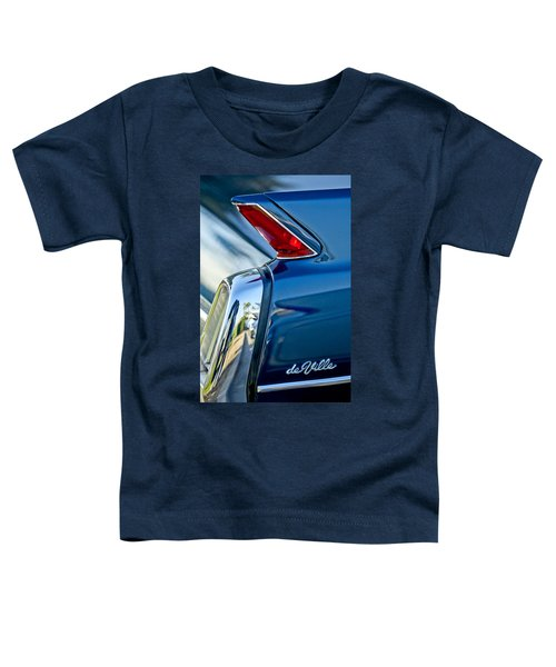 1962 Cadillac Deville Taillight Toddler T-Shirt