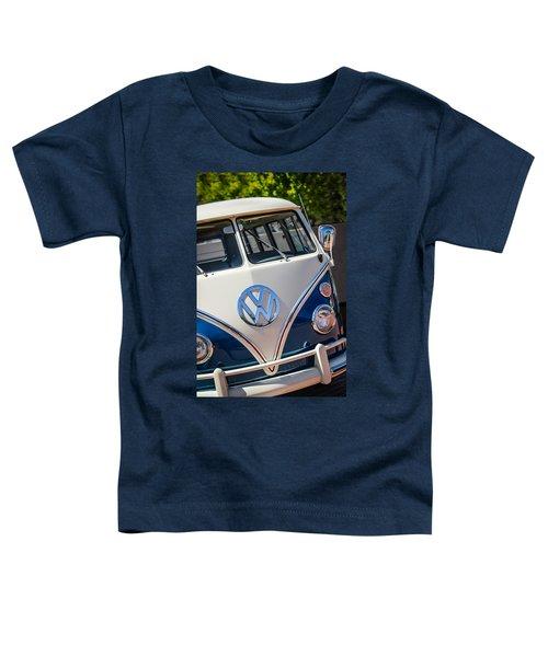 1966 Volkswagen Micro Bus -1012c Toddler T-Shirt