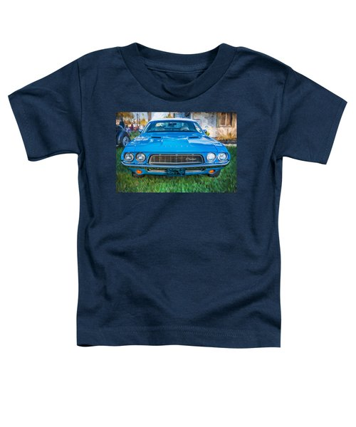 1972 Dodge 340 Challenger Painted Toddler T-Shirt