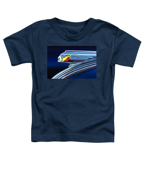1939 Pontiac Silver Streak Chief Hood Ornament Toddler T-Shirt