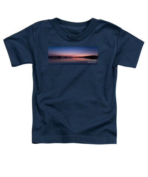 Lake Lanier After Sunset Toddler T-Shirt