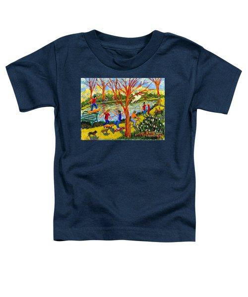 Skateboarders Toddler T-Shirt
