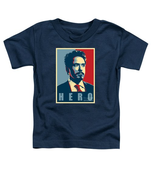 Tony Stark Toddler T-Shirt