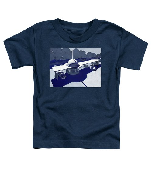 Roadside Of Tomorrow Toddler T-Shirt by Robert Poole