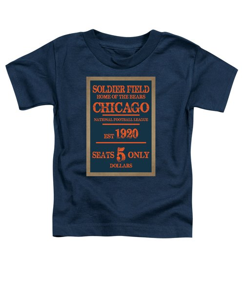 Chicago Bears Toddler T-Shirt