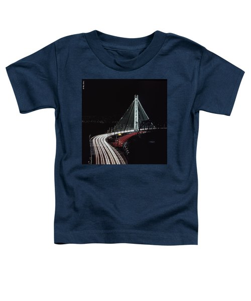Oakland Bridge Toddler T-Shirt