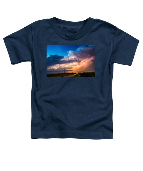Wicked Good Nebraska Supercell Toddler T-Shirt