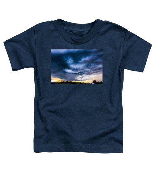 Late Afternoon Nebraska Thunderstorms Toddler T-Shirt