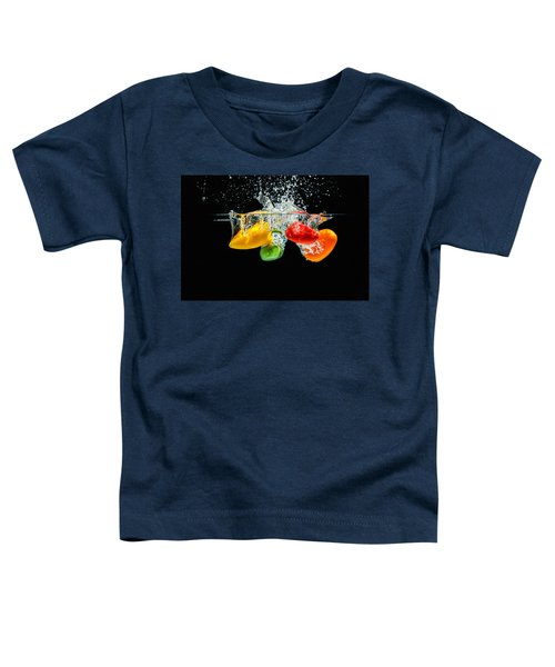 Splashing Paprika Toddler T-Shirt