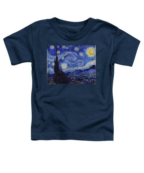 Starry Night Toddler T-Shirt