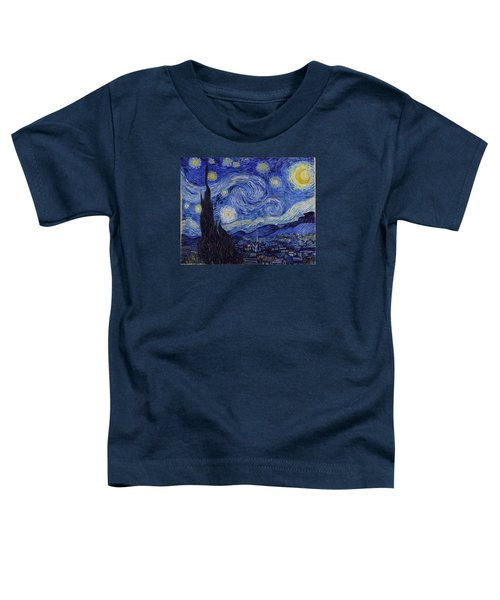 Starry Night Toddler T-Shirt