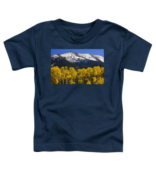 A Dusting Of Snow On The Peaks Toddler T-Shirt