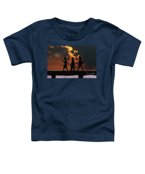 A Fishing We Will Go Toddler T-Shirt