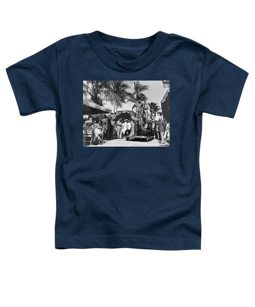 A Portable Jazz Band In Miami Toddler T-Shirt