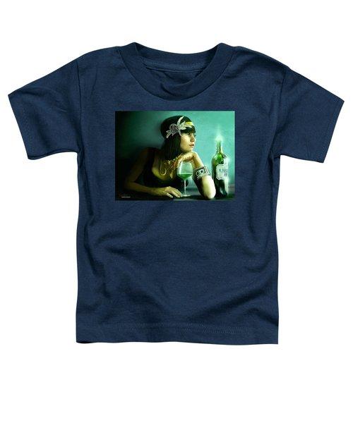 Absinthe Toddler T-Shirt by Jason Longstreet