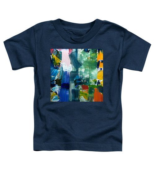 Abstract Color Relationships Lll Toddler T-Shirt