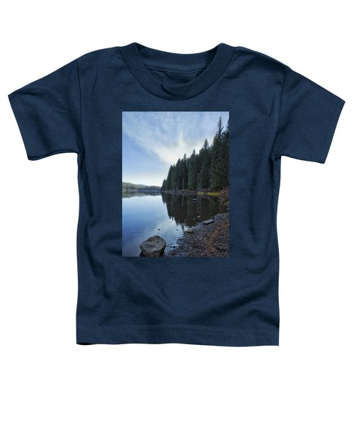 Afternoon At Clear Lake Toddler T-Shirt