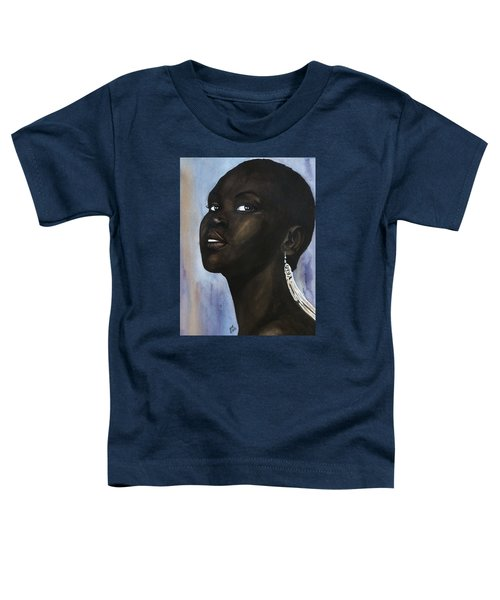 Alek Wek Toddler T-Shirt