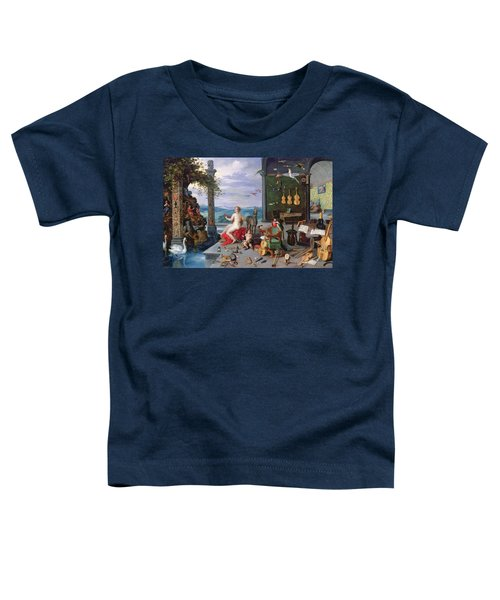 Allegory Of Music Oil On Canvas Toddler T-Shirt