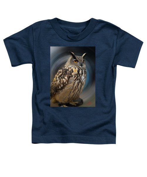 Toddler T-Shirt featuring the photograph Almeria Wise Owl Living In Spain  by Colette V Hera  Guggenheim