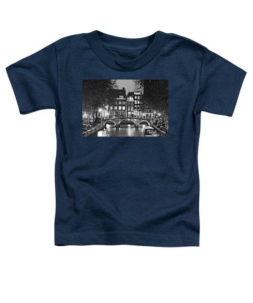 Amsterdam Bridge At Night / Amsterdam Toddler T-Shirt