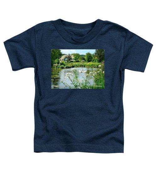 An English Cottage Toddler T-Shirt