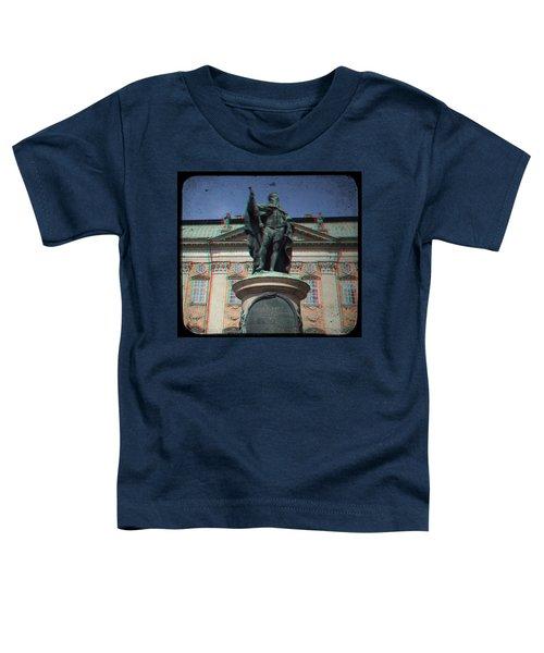 Anaglyph King Gustav Toddler T-Shirt