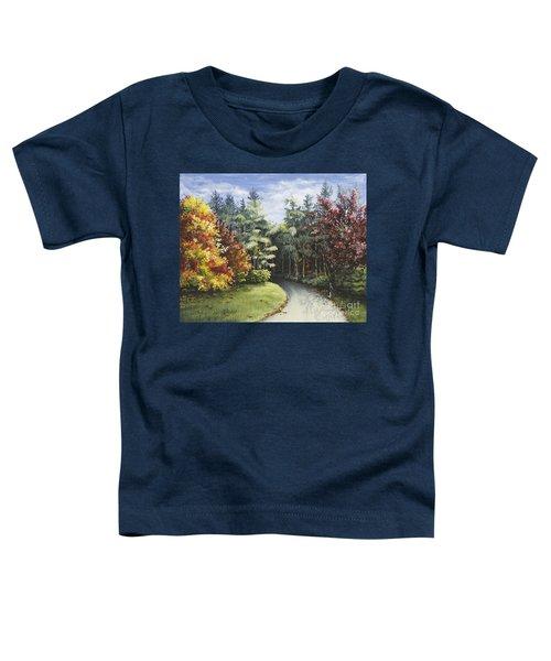 Autumn In The Arboretum Toddler T-Shirt
