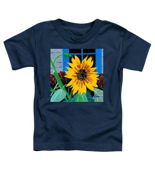 Backyard Flowers  Toddler T-Shirt