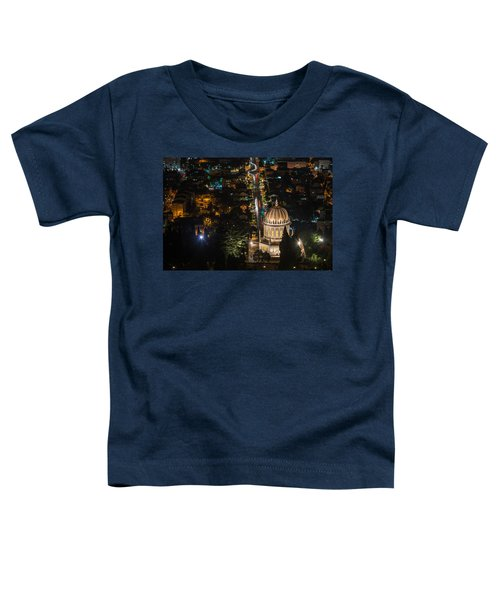 Baha'i Temple At Night Toddler T-Shirt
