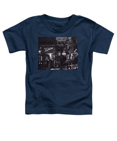 Bars On Broadway Nashville Toddler T-Shirt