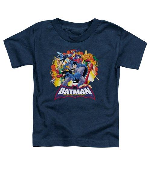 Batman Bb - Explosive Heroes Toddler T-Shirt